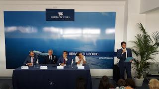 Grimaldi, nuova stazione marittima a Porto Torres