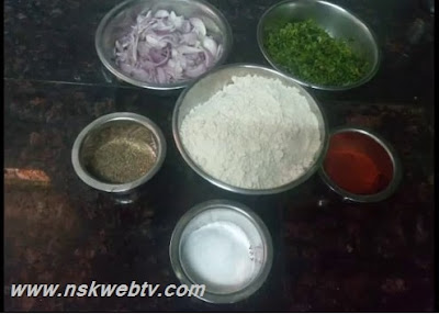 Onion Chapathi, Onion Wheat Roti