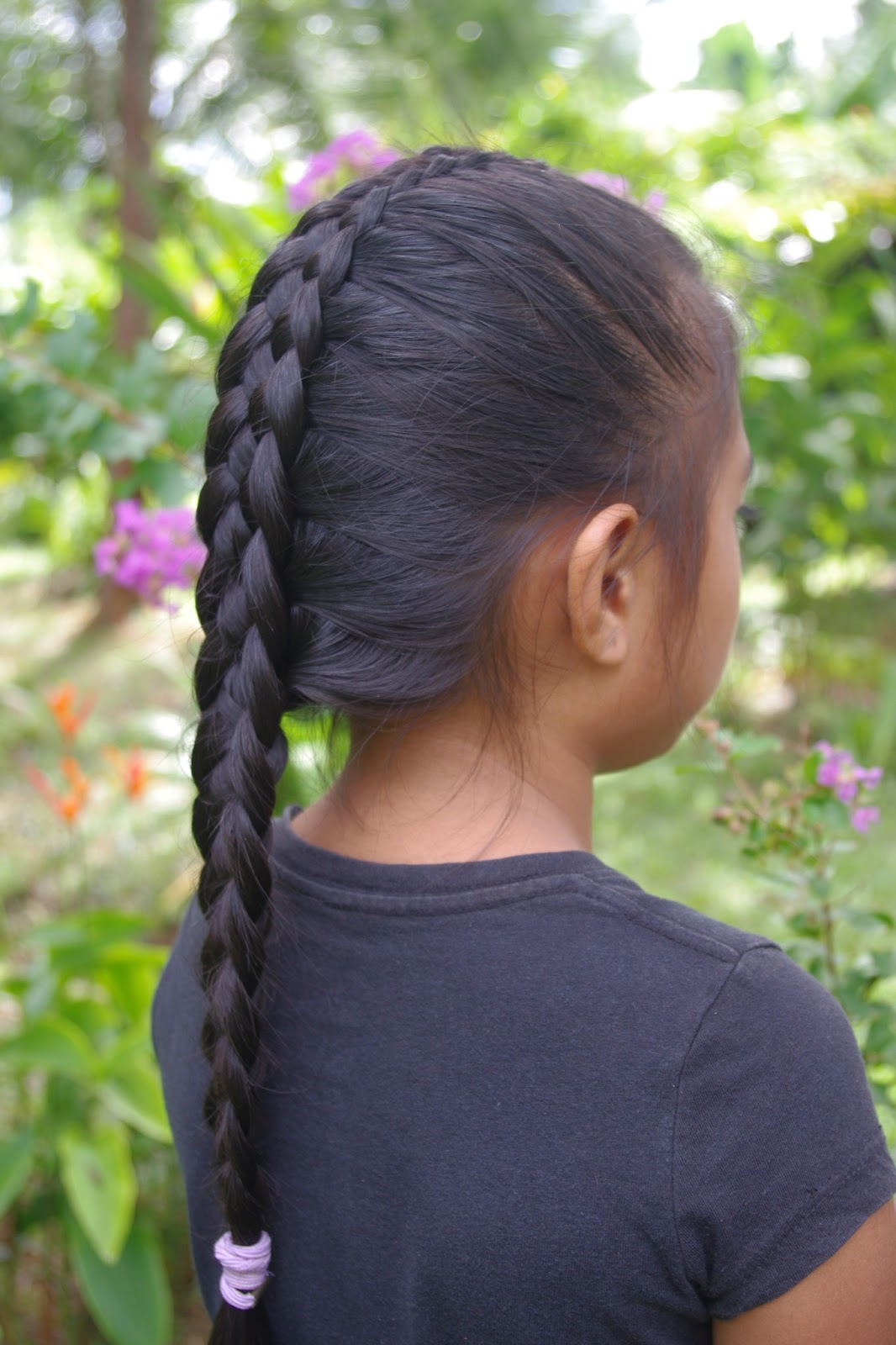 17 French Braid Hairstyles for Little Black BEST and ... |Pretty Braids For Girls