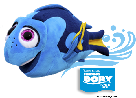 swimming dory toy instructions