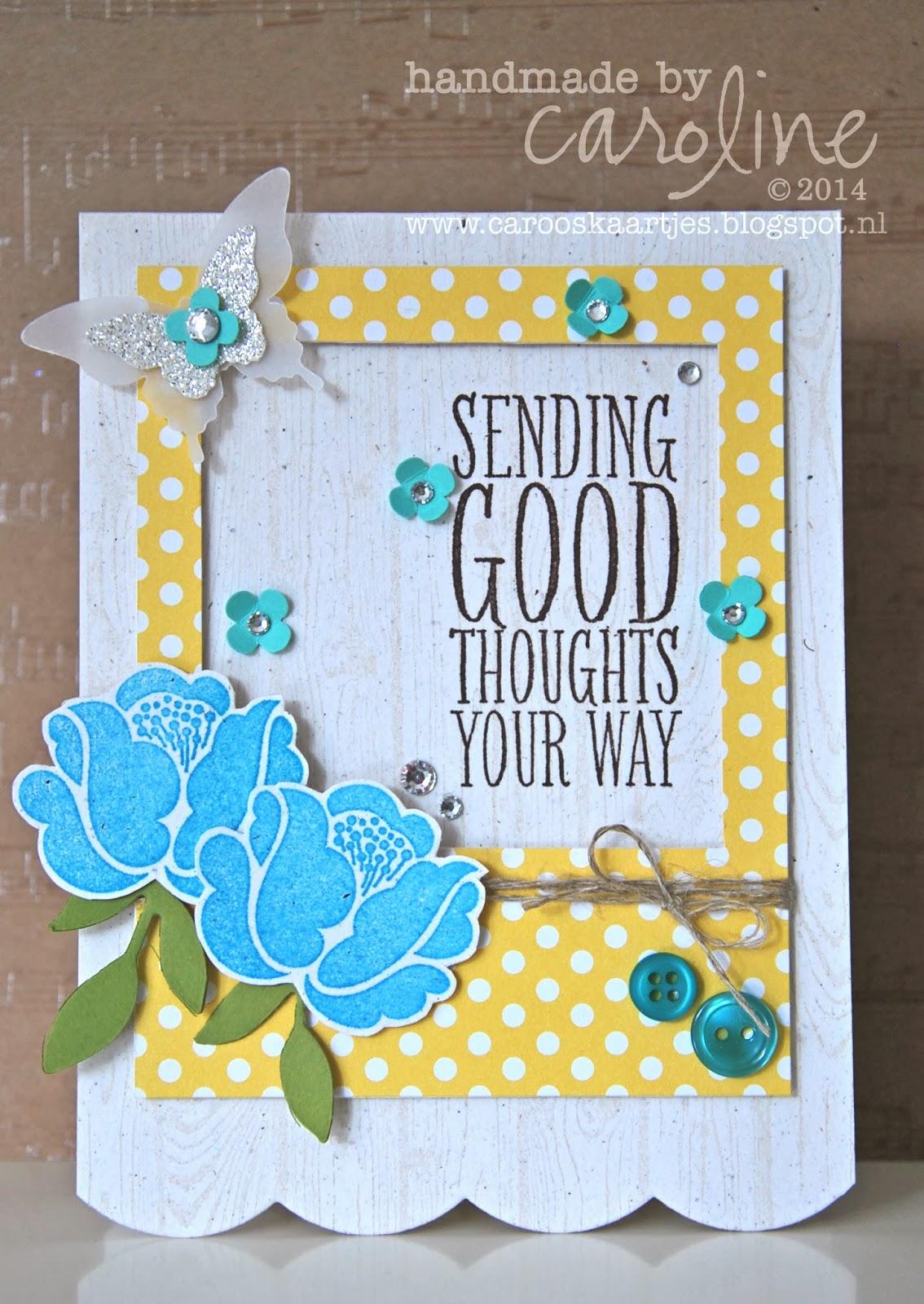 Caro's kaartjes   voor stampin' up! inspiratie en het bestellen ...