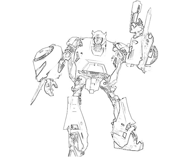 transformers cybertron coloring pages - photo#36