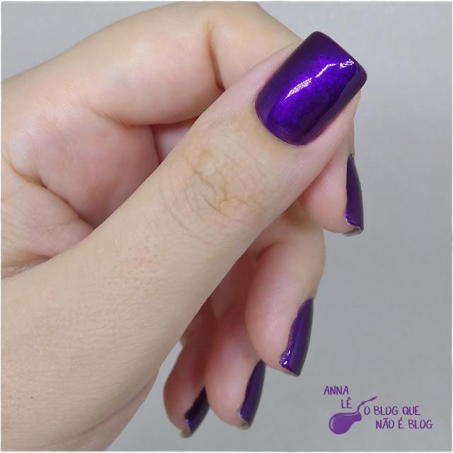 Plum Paradise Maybelline Color Show Esmalte Nailpolish Purple Roxo