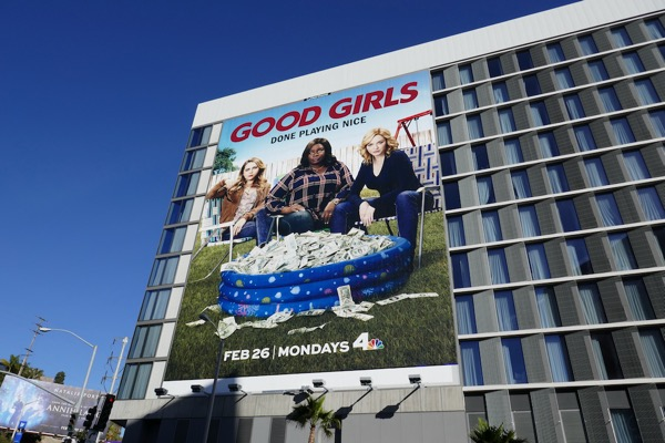 Giant Good Girls series premiere billboard