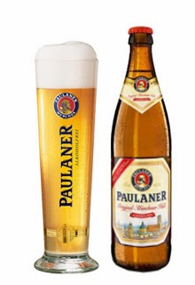 Paulaner Original Münchner Hell Alkoholfrei, cerveza lager sin alcohol