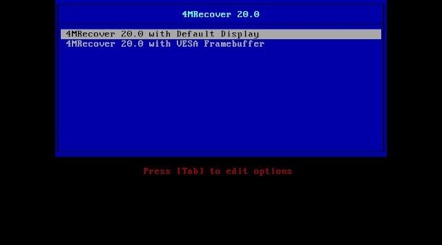 Lançada versão beta da distribuição 4MRecover 20.0!