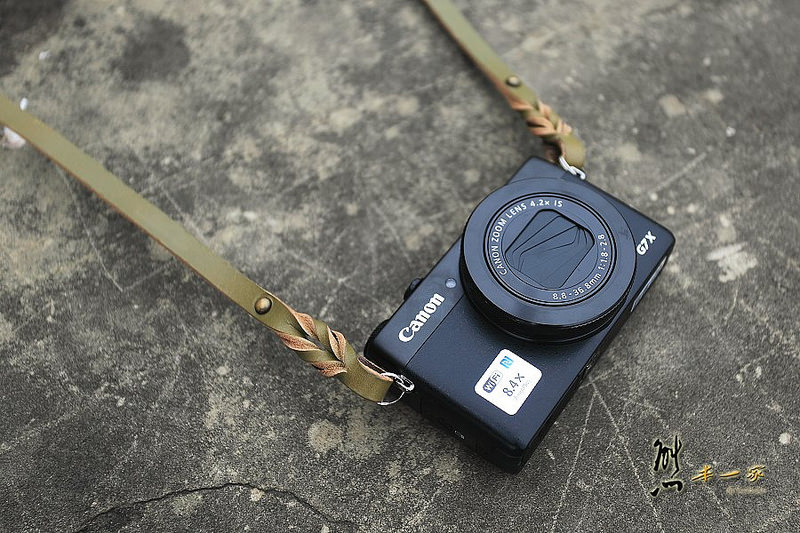 Canon G7X 皮革相機背帶|相機包