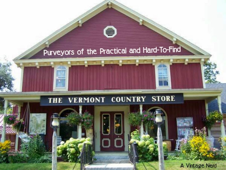 A Vintage Nerd, The Vermont Country Store, Vintage Blog