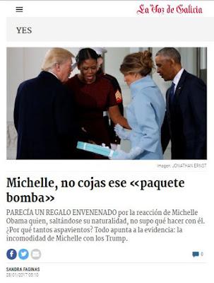 Melania y el paquete bomba. Olga Casal
