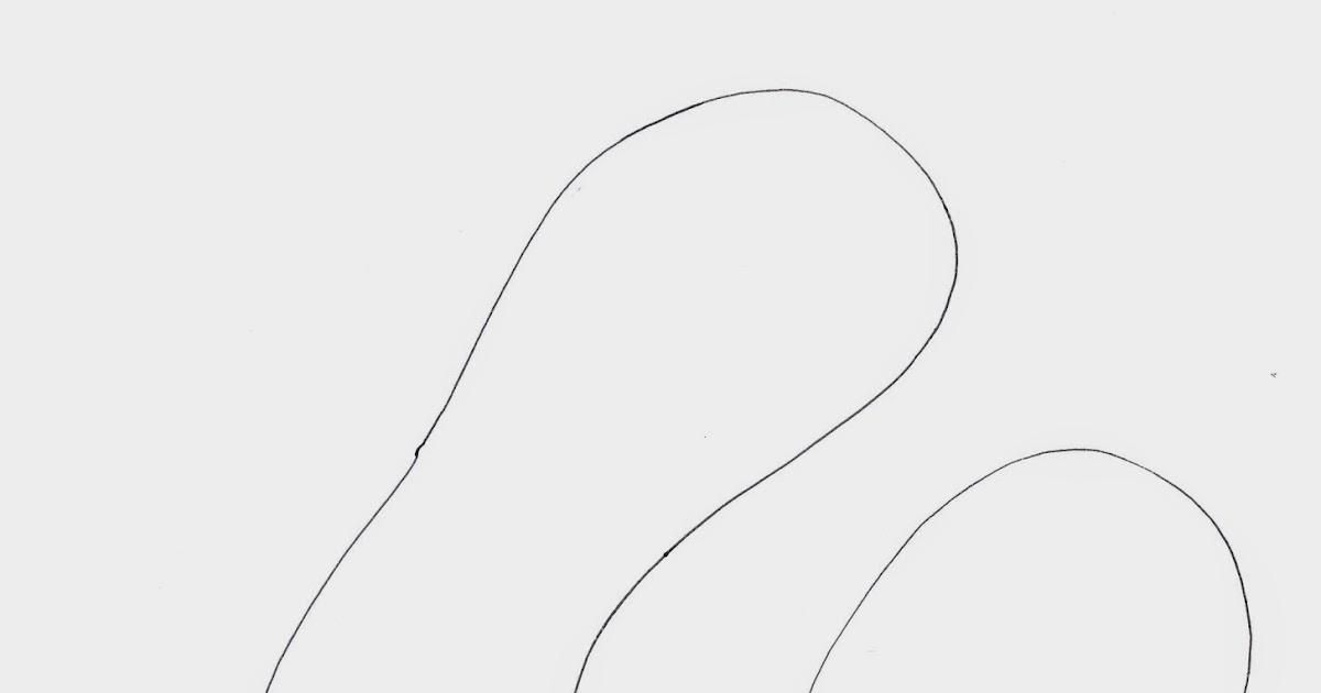 Stempeleinmaleins: FlipFlop Vorlage - flip flop template