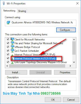 Hướng dẫn thay đổi địa chỉ IP