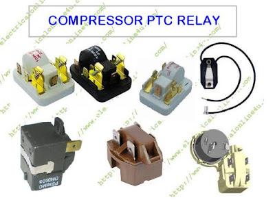 refrigerator ptc relay