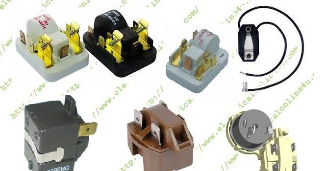 Ptc Relay Wiring With Capacitor On Compressor Wiring Capacitor