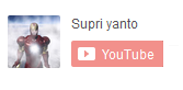 tampilan icon subscribe youtube