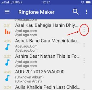 Cara Membuat Ringtone di Android - 1