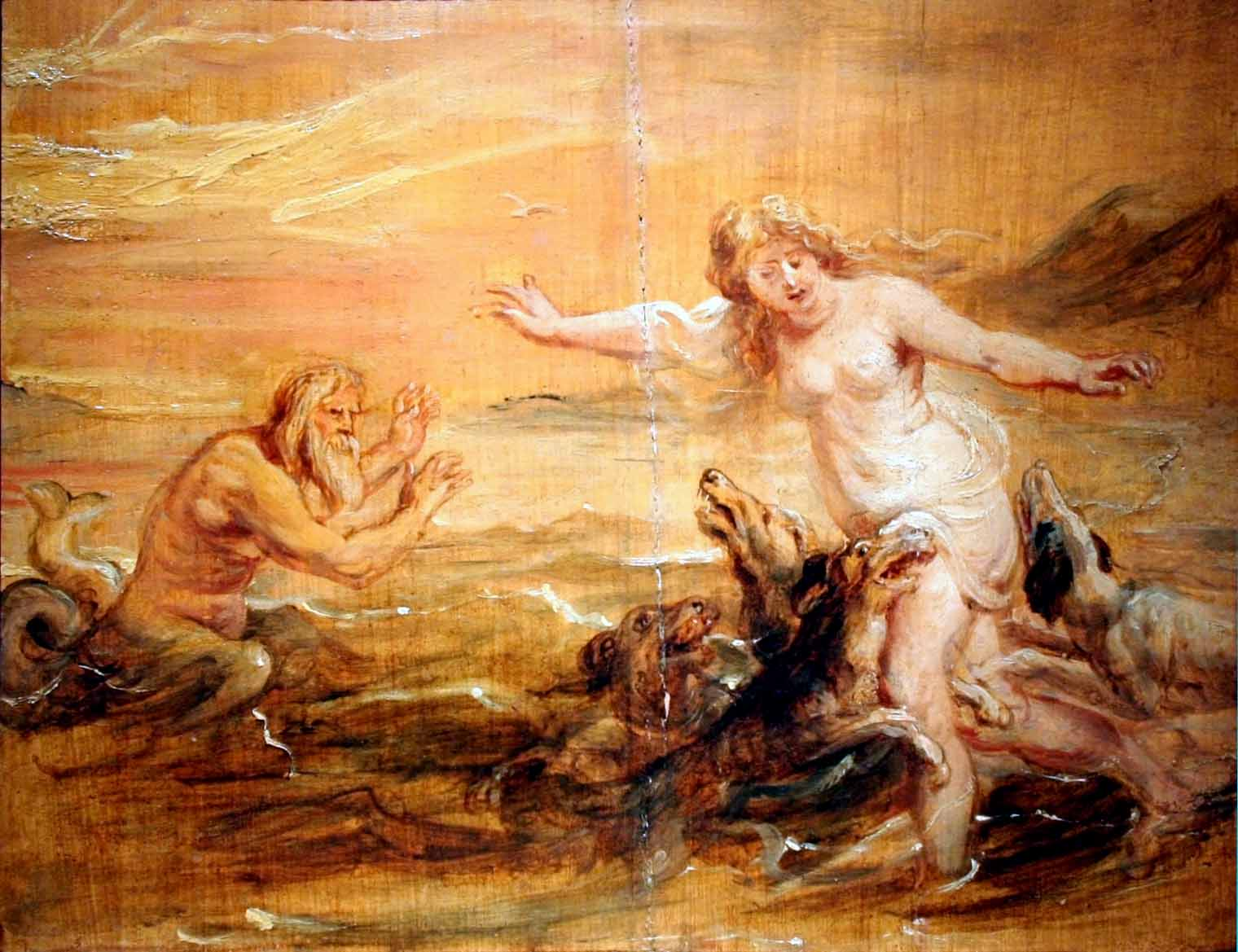Scylla Greek Mythology Drawing