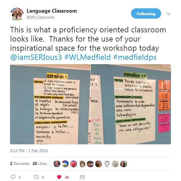 World Languages Medfield - World no 1 language