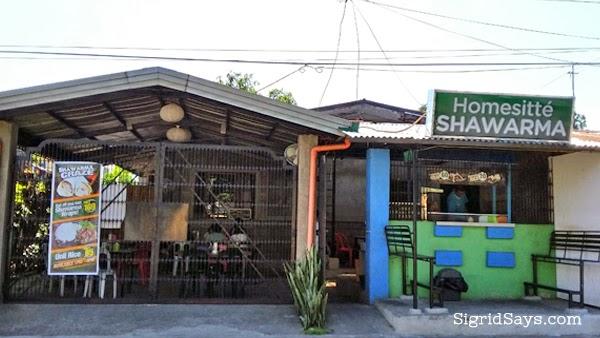 Homesitte Shawarma - Bacolod restaurants