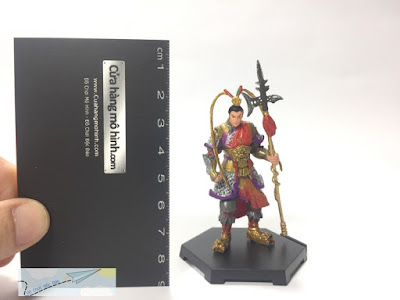 mô hình nhân vật Tam Quốc Chí mini