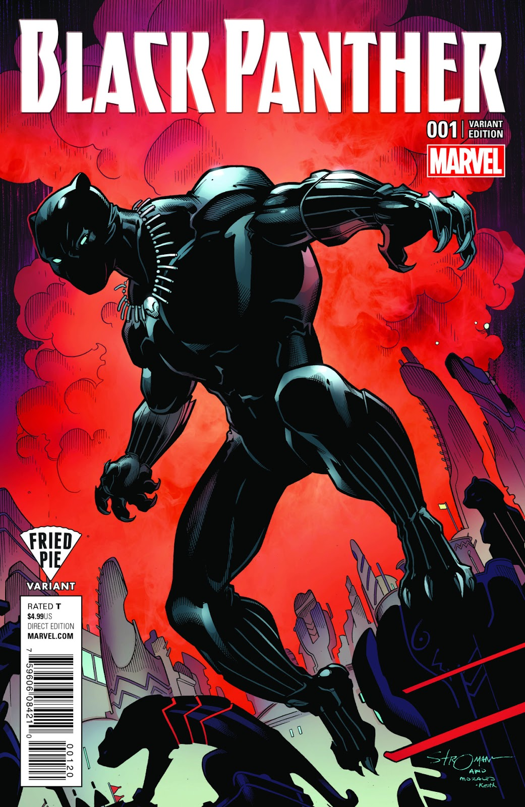 Cultural Front  Black Panther  1 variant cover by Larry Stroman 385e7030df42
