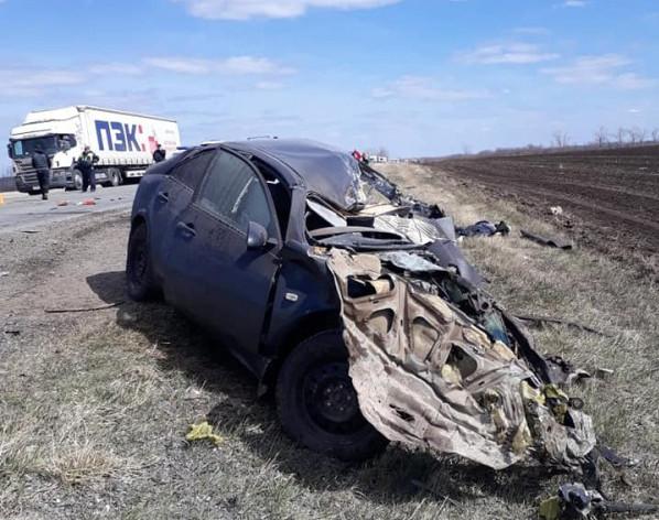 В Туймазинском районе легковушка столкнулась с грузовиком МАЗ