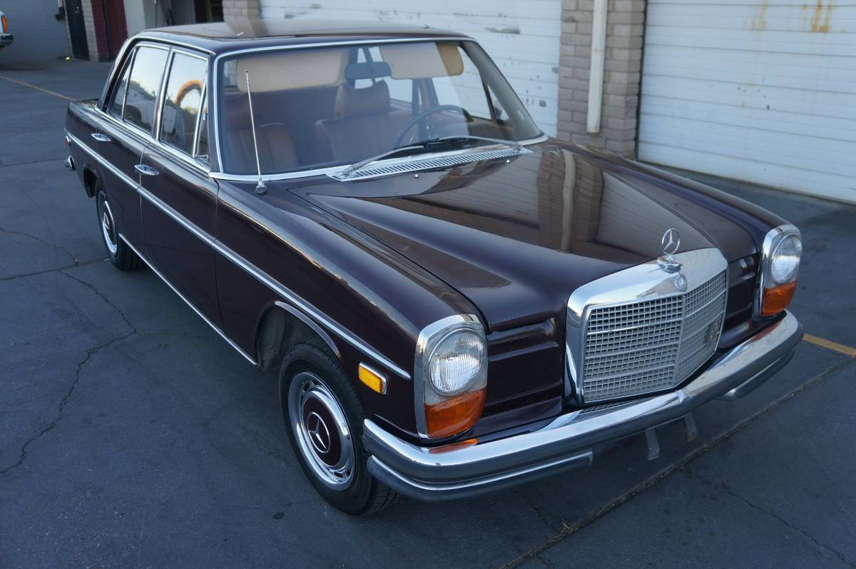 Daily Turismo: Brown Time Capsule: 1969 Mercedes-Benz 250 ...