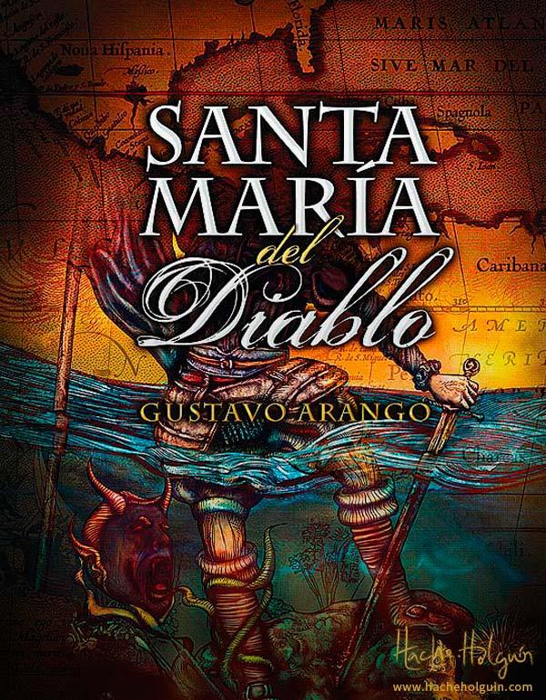 Ilustración final de portada de Santa María del Diablo