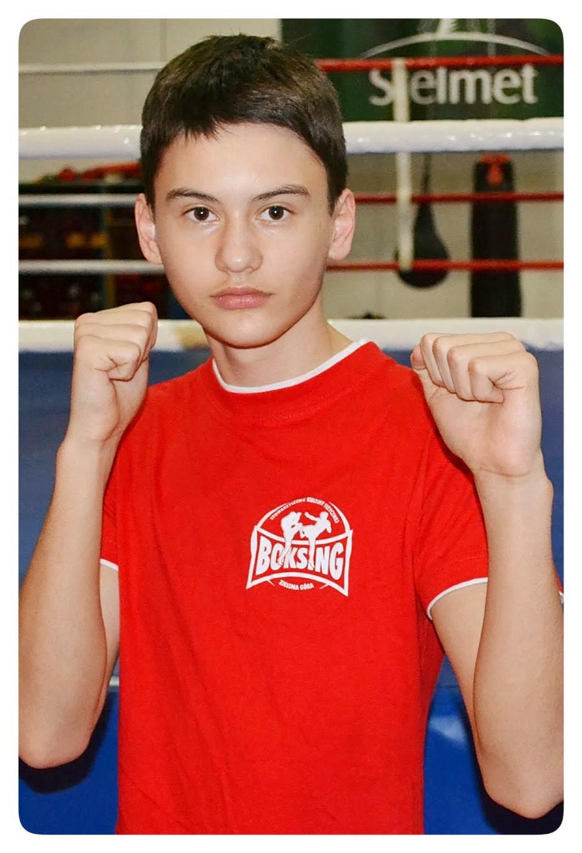 Przemysław Kalisz, boks, kickboxing, treningi, Zielona Góra, muay thai, SKF Boksing Zielona Góra, sport