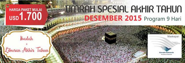 Biaya Paket Umroh bulan Desember akhir tahun 2015 Kebayoran Baru, Kebayoran Lama, Pesanggrahan, Cilandak, Pasar Minggu, Jagakarsa, Mampang, Prapatan, Pancoran, Tebet, dan Setiabudi Jakarta Selatan