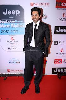 Red Carpet of Most Stylish Awards 2017 ~ Ayushmann Khurrana  (1).JPG