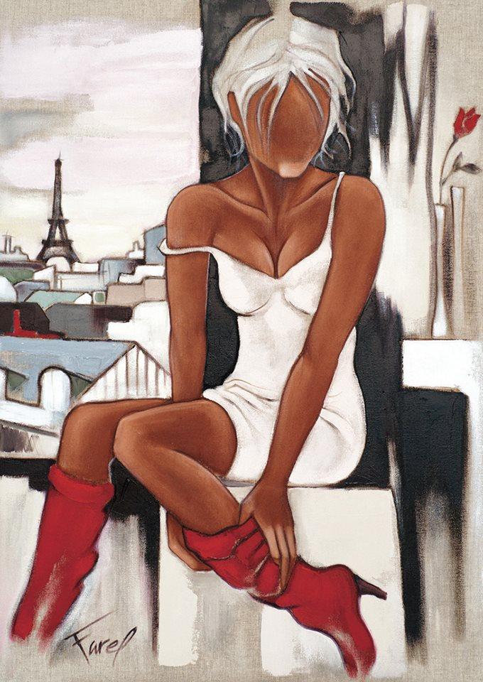 Pierre Farel Les bottes rouges