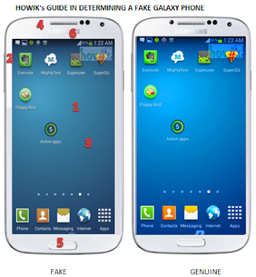 7 Cara Membedakan Smartphone Yang Asli Dan Palsu