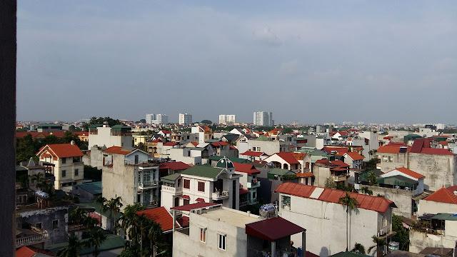 View ban cong cua can ho chung cu mini Ngoc Thuy