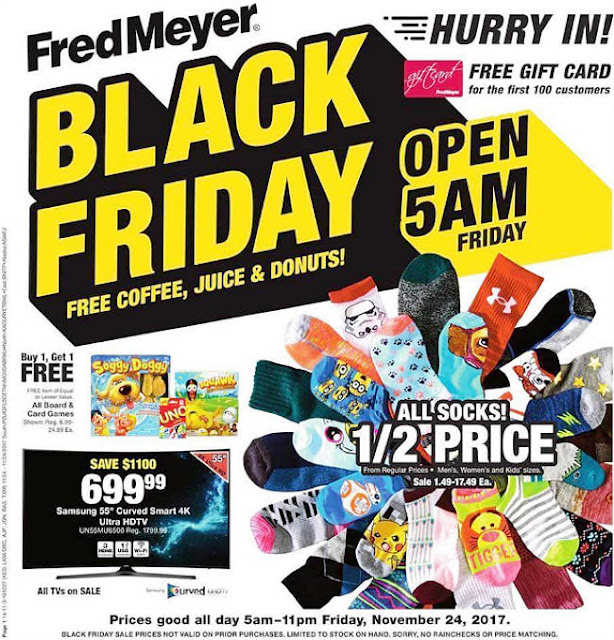 Fred Meyer Black Friday 2017 Ad