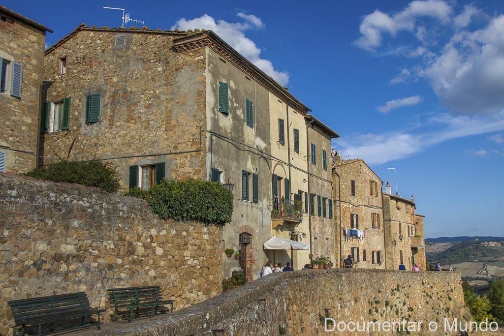 Pienza, Via dell'Amore, Toscana, Itália