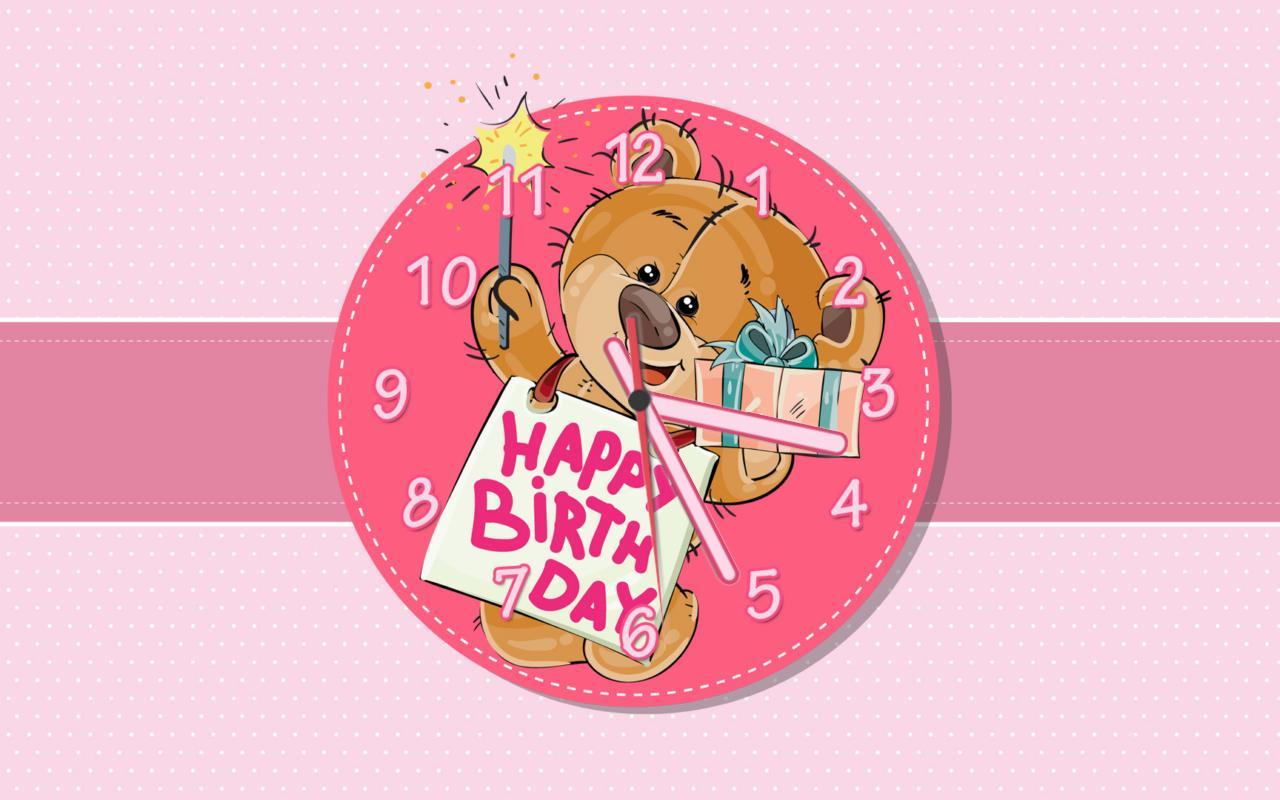 teddy bear wishing a