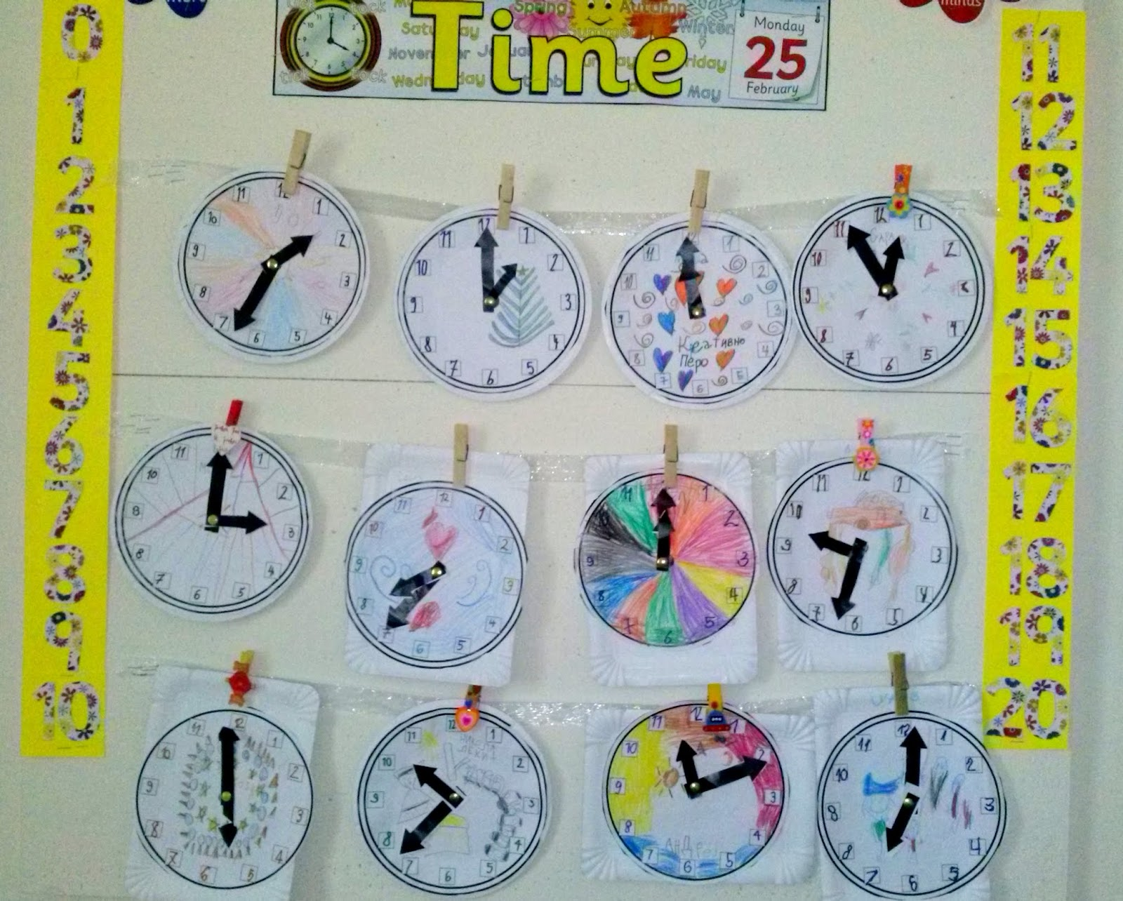 Stories From The Creative Classroom Tick Tock Tick Tock