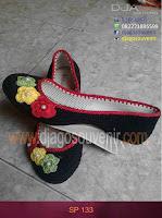 Sepatu rajut motif Biasa hak 5 cm murah