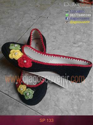Sepatu rajut wedges murah dengan harga grosir