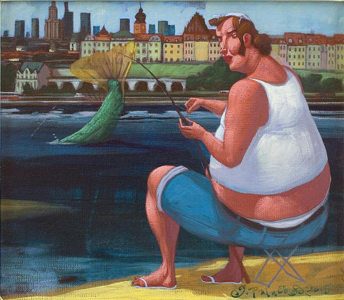 Польский художник. Jacek Palucha