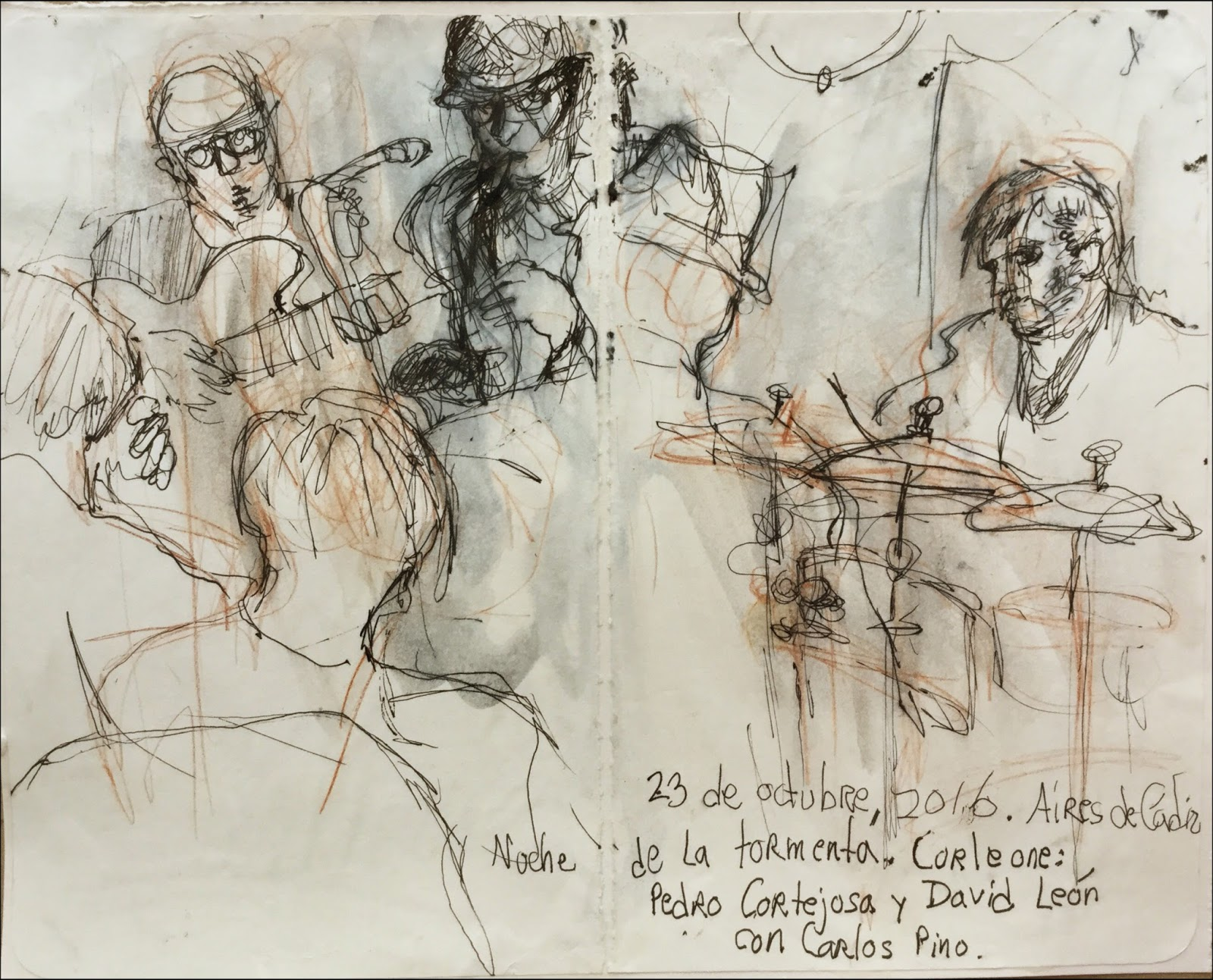 drawings from a november in cádiz urban sketchers