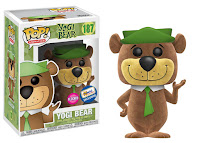 Flocked Yogi Bear POP!