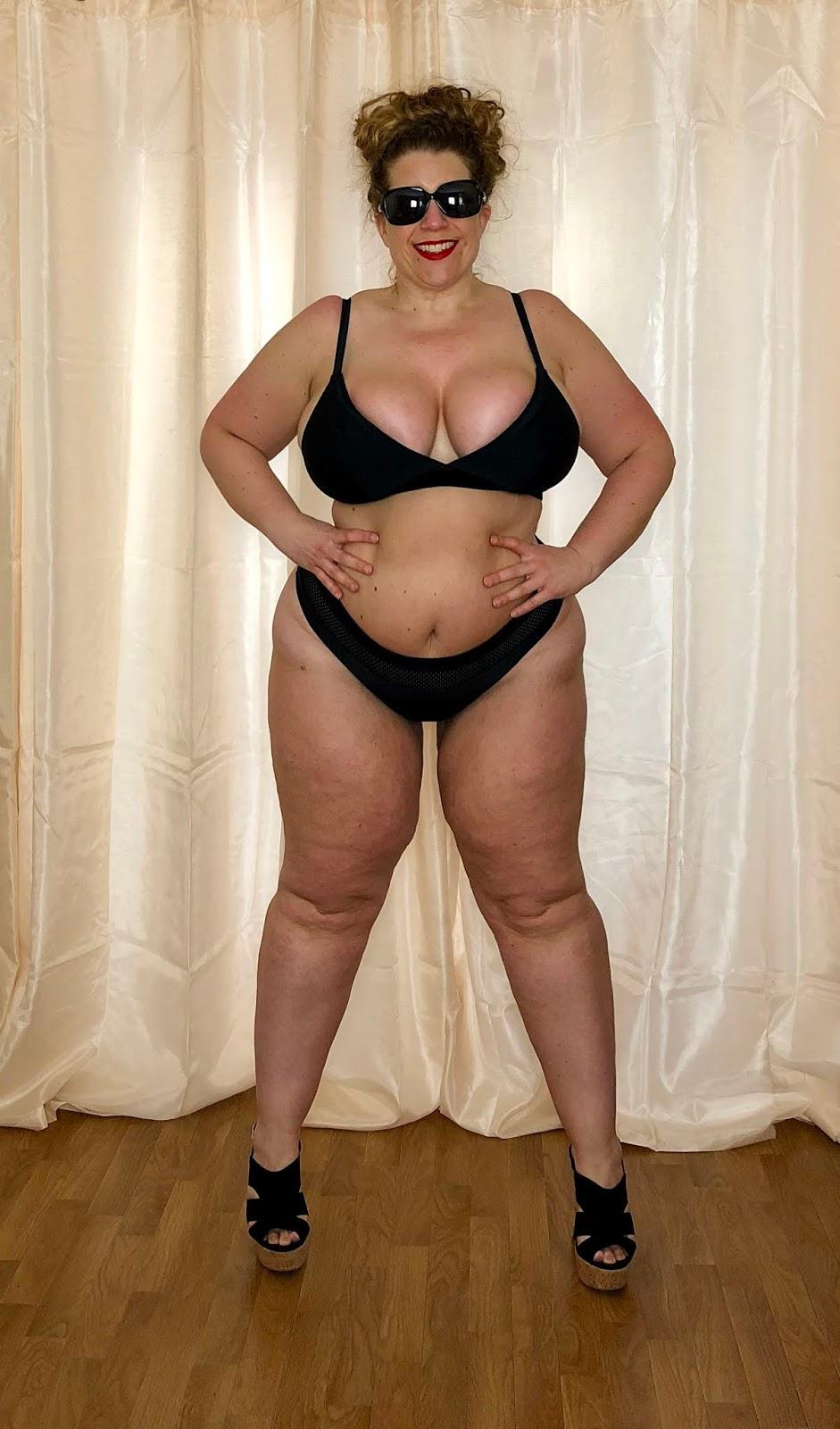 Forever 21+ Mesh Trim Bikini