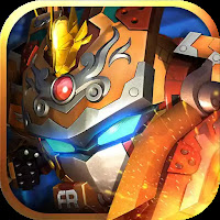 Superhero Fruit: Robot Wars – Future Battles  (Mod Apk Unlimited Gold Coins/  Diamonds)
