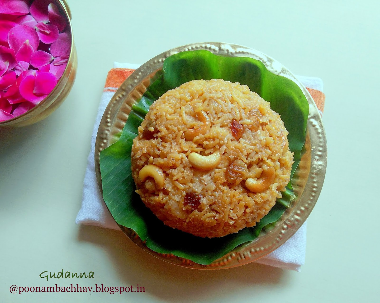 Indian food recipes indian recipes desi food desi recipes gudanna bella da anna is a traditional rice dessert from the karnataka cuisine gudaor bella means jaggery in kannada and anna means rice forumfinder Image collections