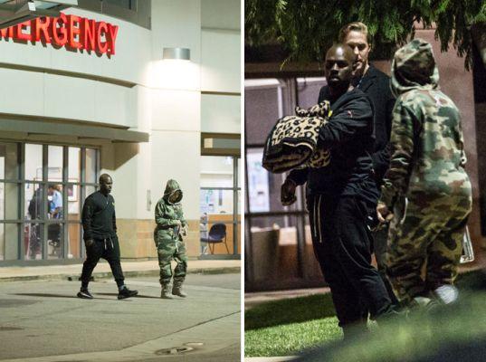Blac Chyna & Kris Jenner Rush to Hospital for Rob Kardashian (photos)