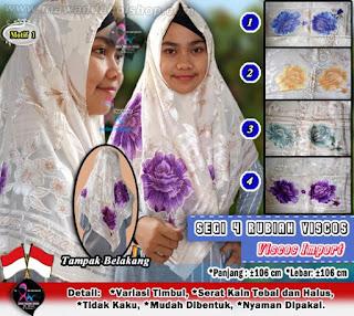 Segi empat rubiah model hijab segi4 terbaru bahan viscose