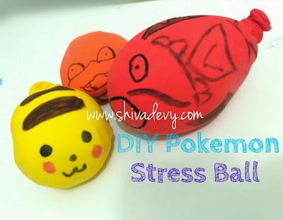 DIY: Pokemon Stress Ball