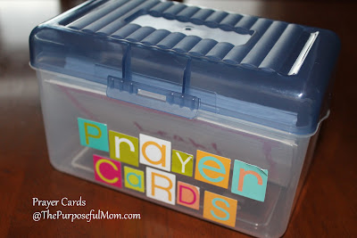 Character Cards to Use When Praying With Your Kids