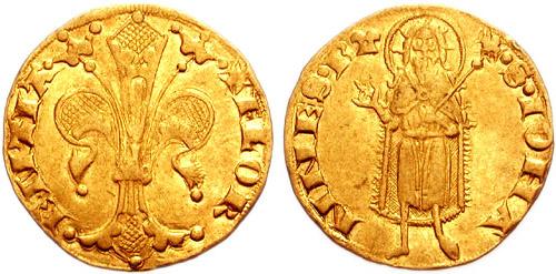 Florín de oro de Florencia